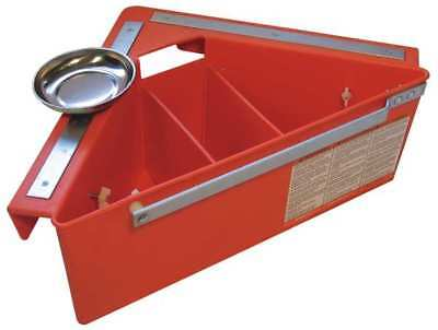 Tool Organizer for Aerial Platforms, Orange AERIAL TOOL BIN ATB1312
