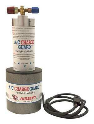 AIRSEPT 72161 A/C Charge Guard, A/C, Silver, White