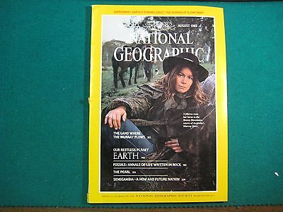 Revista National Geographic  August 1985  (En Ingles)
