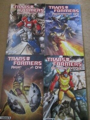 Transformers Regeneration One TPB Volumes 1-4 Complete IDW