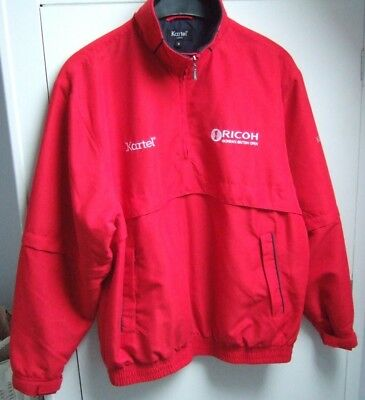 GOLF JACKET by  KARTEL....Medium....Made for Ricoh, Brit. Open,2009....EX. COND.
