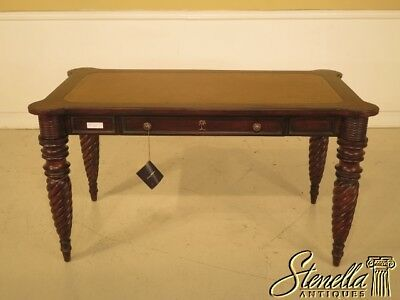 43100E:  TOMMY BAHAMA Leather Top Mahogany Writing Desk