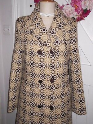 "Vintage Welsh Wool Coat, Excellent Condition 36"" Bust"