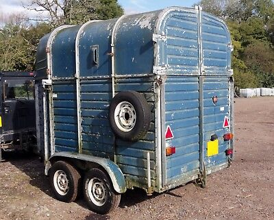 Rice Beaufort Double Horse Trailer Project Mobile Catering Coffee/Cake/Bar