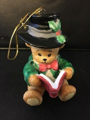 LAST CHANCE* Lucy And Me Bear Thomas A Christmas Carol Ornament 1995 Numbered