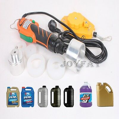 Handheld Electric Bottle Capping Machine Manual Bottle Cap Sealer 120 W 60 kg·cm