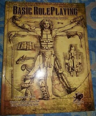 Basic RolePlaying (BRP) Chaosium (Cthulhu/Runequest) (Free UK Postage)