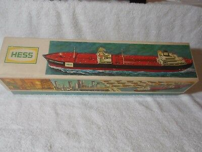 1966 Boxed Hess Voyager, A Real Beauty; With Display Stand