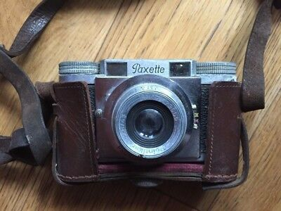 Vintage Braun Paxette camera-unchecked