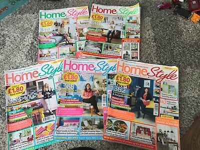 Style At Home Magazines x 5