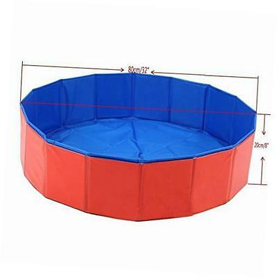 foldable dog pet swimming pool bathing tub