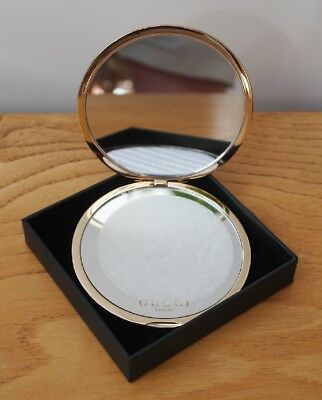 Gucci - Compact Make Up Mirror - Still Boxed & Appears To Be Unused - Travel