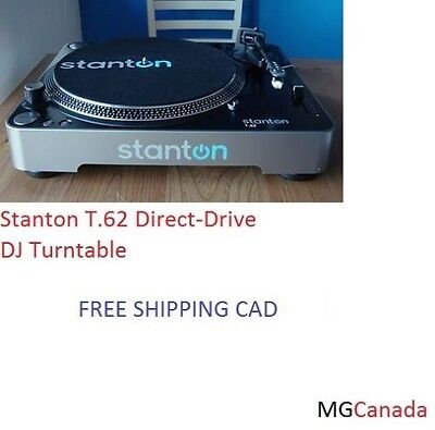 USED Stanton T.62 Direct-Drive DJ Turntable