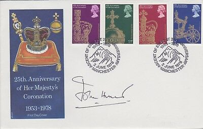 Gb Stamps 1978 Mount Everest Souvenir Cover Signed By Everest Leader John Hunt
