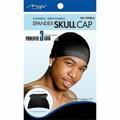 Magic Collection Spandex Skull Cap, Flexible & Breathable#8