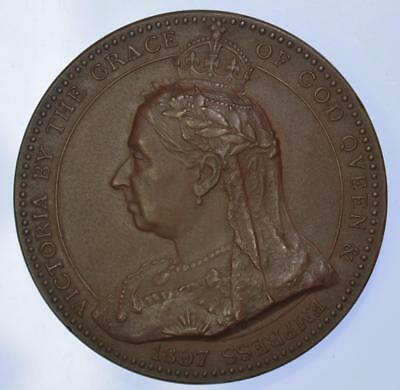 Queen Victoria - 1897 Prize for proficiency in Science cased medal by Wyon
