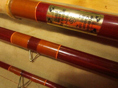 Vintage Stanob's of London Custom Built 13ft Carp/Barbel Rod. 3 Sections. Look!