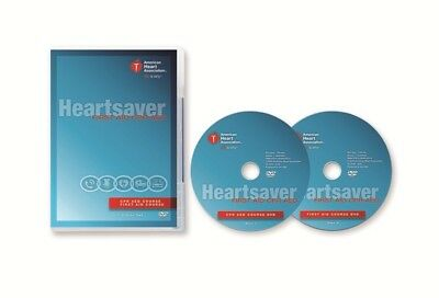 American Heart Association Heartsaver First Aid CPR AED DVD course- Instructors