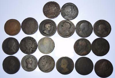 Charles II - George IV, Lot of 20 Farthings - collectable grades