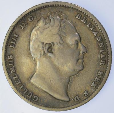 William IV - 1836 Sixpence coin