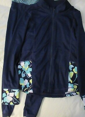 EUC Gymboree Gymgo Jacket & Pants Girls Size 7-8