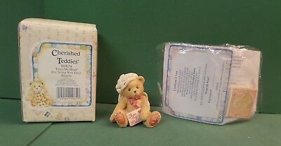 Cherished Teddies #869074 From My Heart Cupid Letter