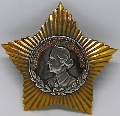 Order of Suvorov 2 degrees.