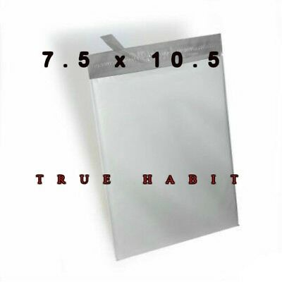 50 Pcs Strong 7.5 X 10.5 Poly Mailers Shipping Bags Envelopes Plastic Self Seal
