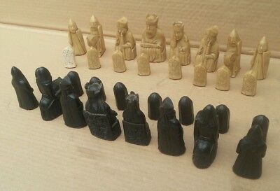 Set Of Lewis Chessmen