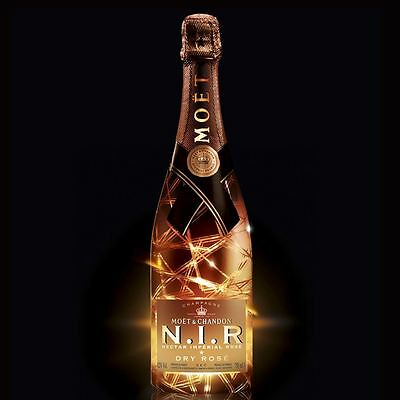 Moet & Chandon N.I.R Nectar Imperial Rose Dry Champagne 75cl