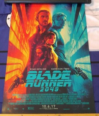 BLADE RUNNER 2049 11x17 Official Movie Poster - Ford - Ryan Gosling - Jared Leto