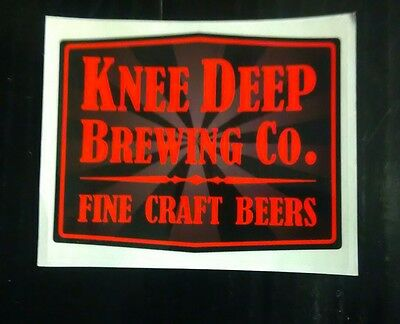 Knee Deep Brewing Company sticker