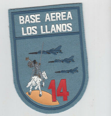 PATCH SPAIN LOS LLANOS AFB 14tH WING MIRAGE F-1  PARCHE