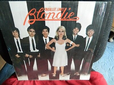 BLONDIE-Parallel Lines 1978 Vinyl LP with lyrics insert