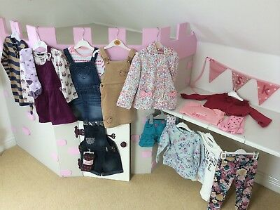 Bundle Of Girls Clothes 2-3 years - Various Brands inc NEXT Junior J, George, TU