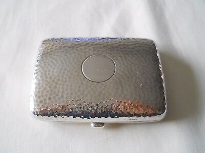 H & A Sterling 925 Antique Cheroot Case English Early 20th Century