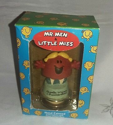 Mr Men & Little Miss Chatterbox Hand Painted Collectables Silver Plated New