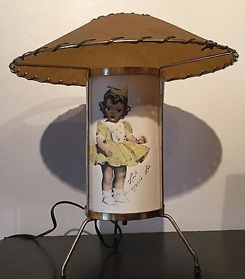 Original Terri Lee Lamp owned by Raymond Haas sales rep for TL Co.