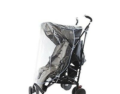 First Steps Baby Stroller Raincover (Transparent)