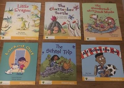 Oxford Reading Tree Snapdragons 6 Book Set Stage Level 5 Yellow RRP £30