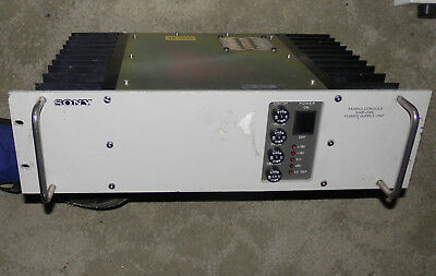Vintage Sony Mxp-2000 Power Supply Mixing Desk Sony Mxp 200C Psu