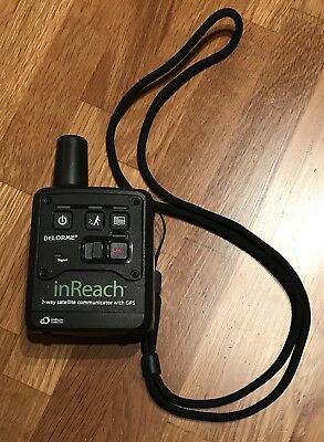 Delorme InReach for Android and iOS satellite communicator