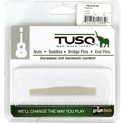Graph Tech Tusq Compensated Saddle For Martin® Acoustic Guitar Pq-9110-00