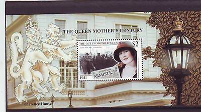 FIJI - SGMS1063 MNH 1999 QUEEN MOTHERS 100th BIRTHDAY
