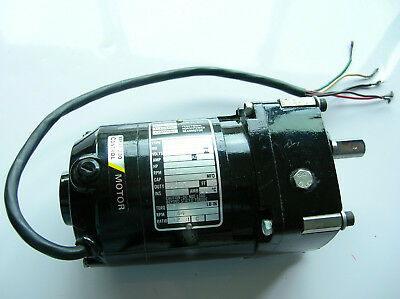 Bodine Series 200 Control Motor In Excellent Clean Condition