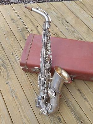 1927 The Buescher True Tone Alto Saxophone With #1 Neck  Nice Condition