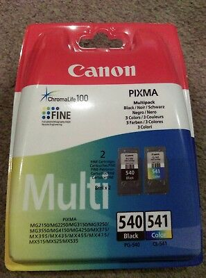 Canon ink cartridges 540 541