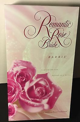 Mattel Romantic Rose Bride  Barbie Limited Edition NEW