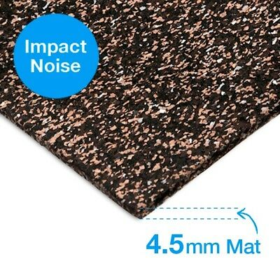 Regupol 4515 Multi 4.5mm Acoustic Underlay with adhesive.