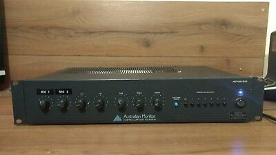 Australian Monitor Amis 60 2A Amplifier 6 Zone Speakers Installation Series